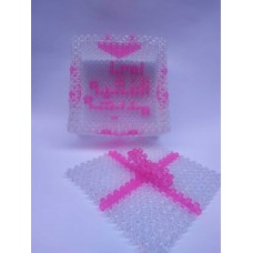 Bonbonne Crystal and Mother's Day Box Writing prominent name and possibility to place a picture