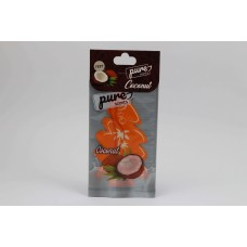 A large tree car air freshener with European specifications, long-lasting coconut scent