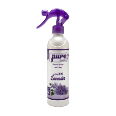 Air freshener and deodorant with plasma feature, lavender scent, 460 ml